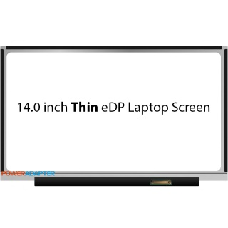 14.0 inch Thin eDP 30-PIN Scherm 1366x768 No Brackets